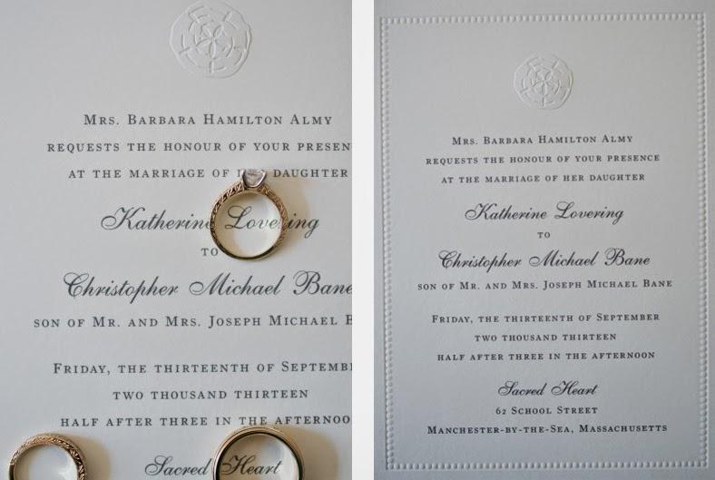 Wedding Invitations William Arthur: William Arthur Blog: Real Weddings: Kate & Chris