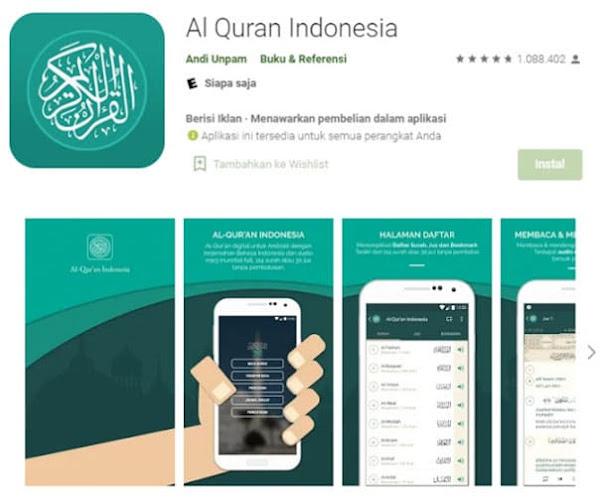 Rekomendasi Aplikasi Al-Quran untuk Android