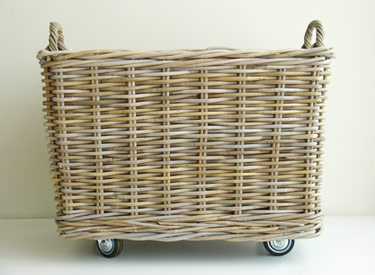 The Newlywed Diaries Diy Idea Rolling Basket
