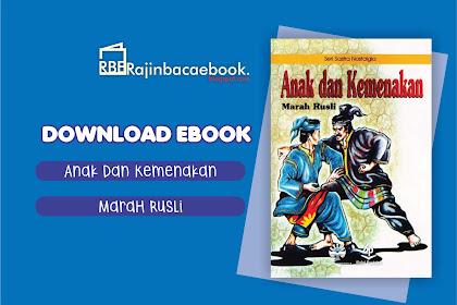 Download Ebook Marah Rusli - Anak dan Kemenakan Pdf