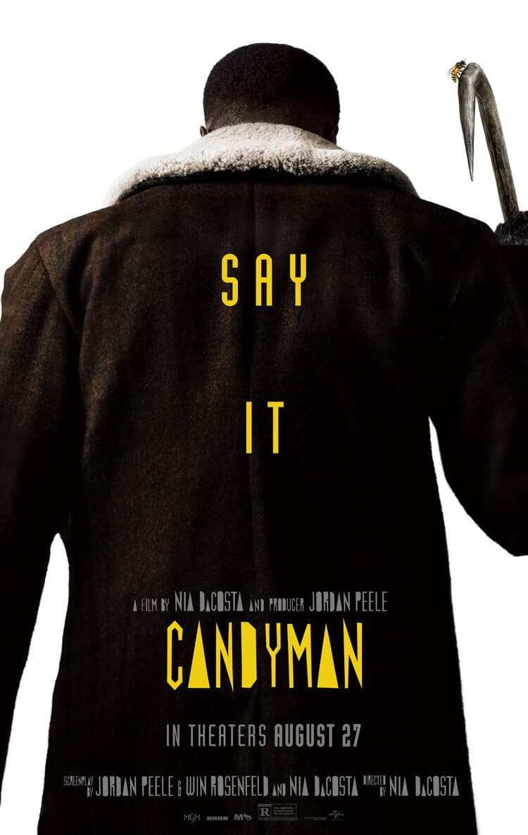 Universal показала свежий трейлер хоррора «Кэндимен» - ремейка от Джордана Пила - Постер