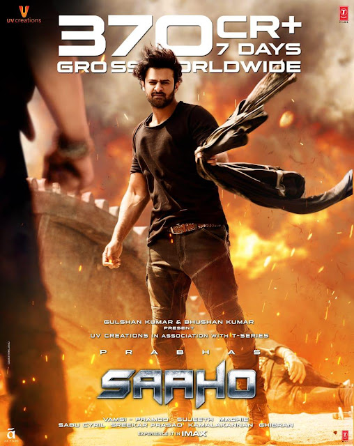 Saaho (2019) Hindi Movie 720p Amazon WEB-DL 1.4GB x264 ESubs Download & Watch Online