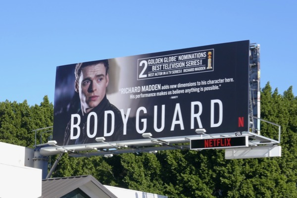 Bodyguard 2 Golden Globe nominations billboard