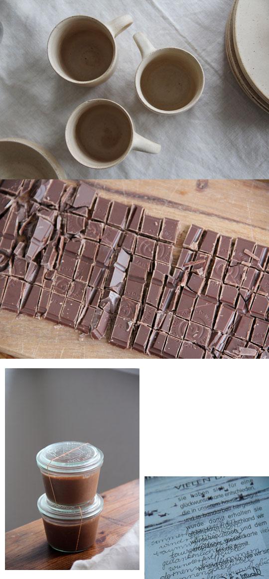 schokoladenmousse mit olivenöl I fräulein text