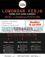 Bursa Kerja Surabaya Terbaru di Bimbel Plus Ilhami Juli 2019