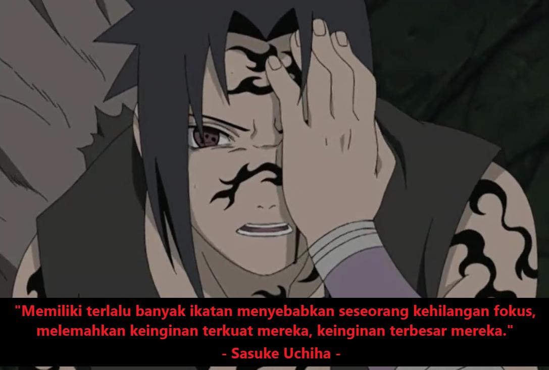 Gambar kata-kata bijak Naruto tentang organisasi
