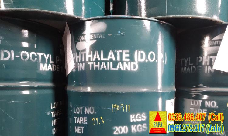 Di-Octyl Phthalate (DOP) - chất hóa dẻo