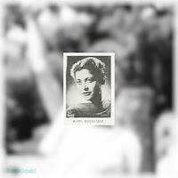 Η Μαρία Μοσχολιού στην παράσταση «Η κυρά της αυγής», του Αλεχάντρο Κασόνα, άνοιξη 1957