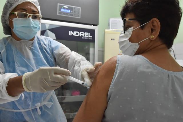Vacinação em Natal salta 20 anos com público sem comorbidades desde junho