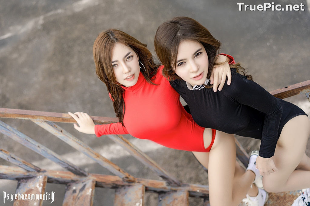 Image Thailand Model - Soithip Palwongpaisal & Champ Phawida - Black Red Concept - TruePic.net - Picture-6