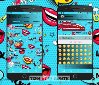 Kiss Me Theme For YOWhatsApp & Fouad WhatsApp By DJ