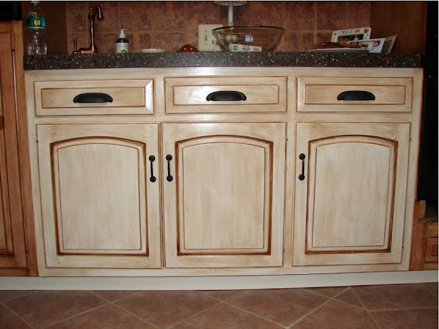 How To Stain Kitchen Cabinets Without Sanding