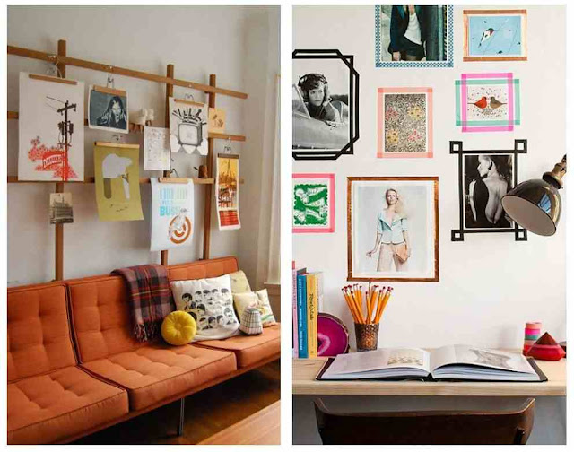 5 Great Ways to Hang Posters without Frames in Minutes