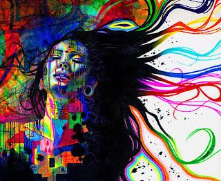 rostros-de-mujeres-representaciones-realistas-y-abstractas mujeres-pinturas-realistas-abstractas