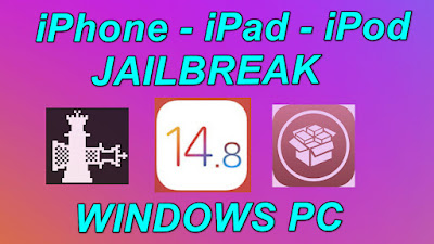 Windows iOS 14.8 Jailbreak With Cydia iOS 14 Jailbreak