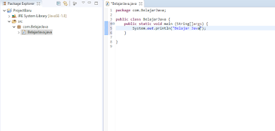 Hasil Debugging Project Java