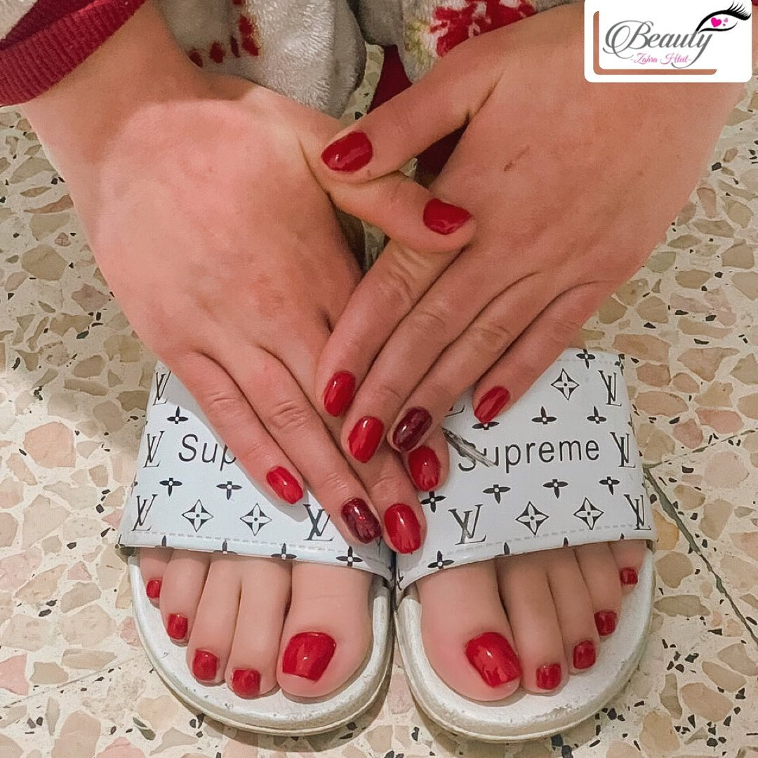 valentines day nails 2021