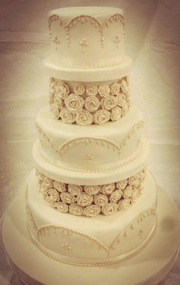 tarta de boda rosas loleta linares blog mi boda gratis