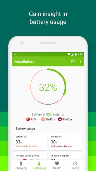 AccuBattery Battery Health v1.2.7-1 Pro Mod