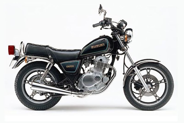 Top 5 motos custom baratas Intruder 250