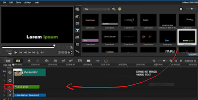 Cara Editing Menambahkan Teks Video di Corel VideoStudio