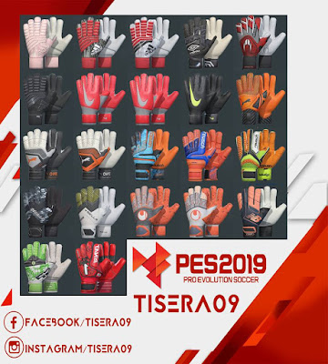 PES 2019 Glovepack v1 Season 2018/2019 by Tisera09