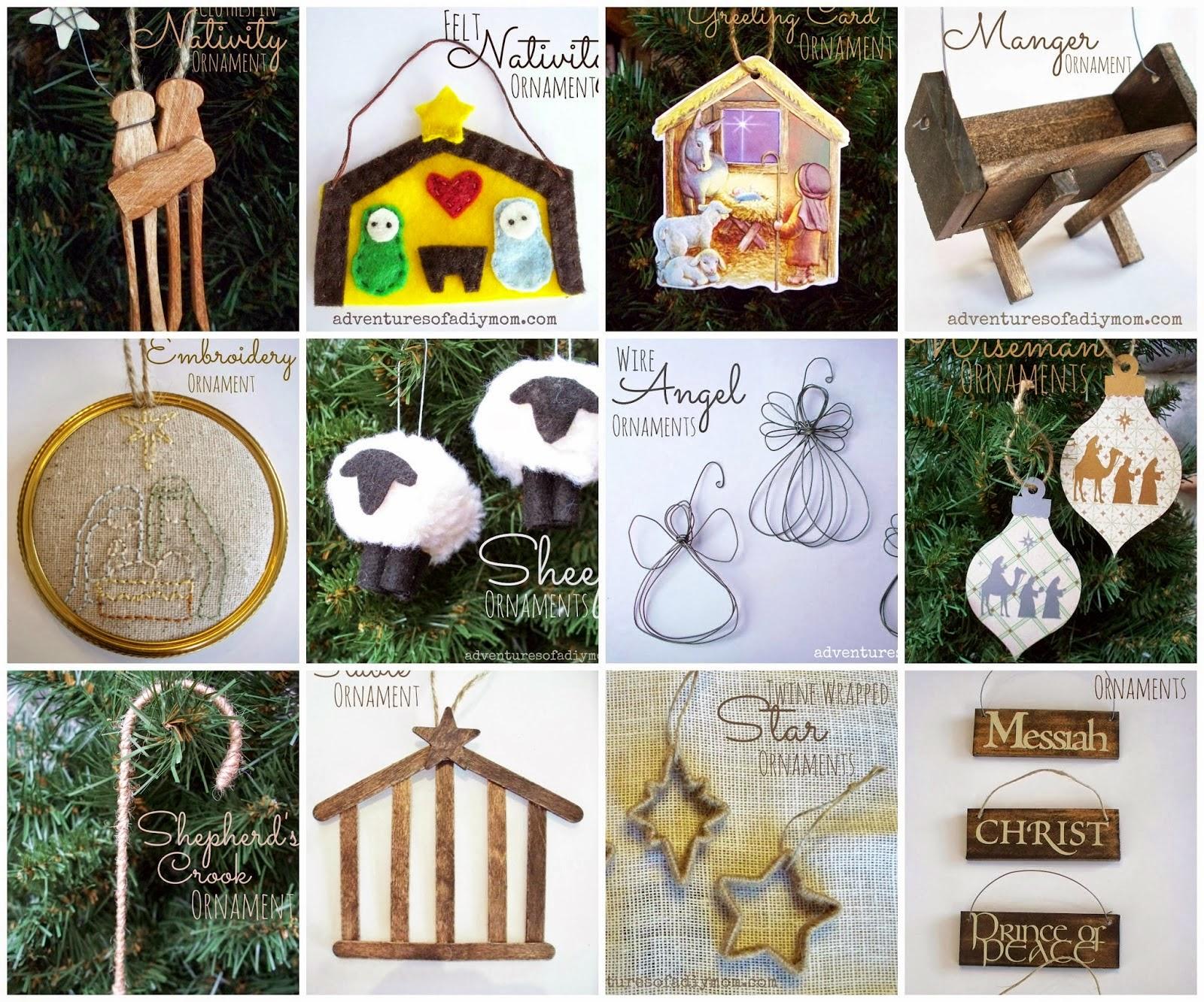 20 DIY Ornaments about Jesus Christ
