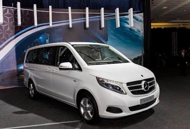 Mercedes V220 d AVANTGARDE thừa hưởng ngôn ngữ Sensual Purity