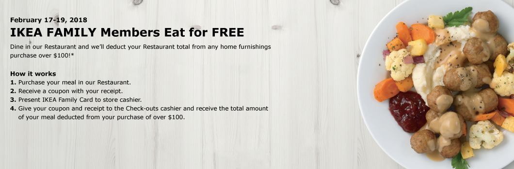 Savvy Spending Ikea Eat For Free If You Spend 100 217 219