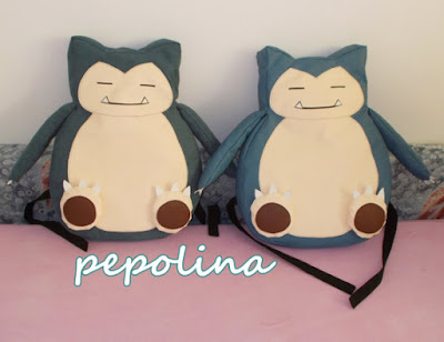 Snorlax Pokemon Backpack