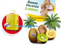 Logo Con Zespri vinci valige American Tourister e voucher viaggio