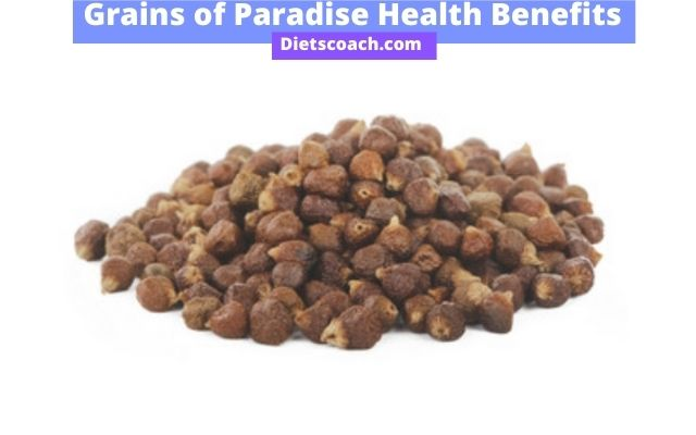 Grains of paradise Health benefits