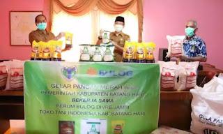 Pemerintah Kabupaten Batanghari Gelar Pasar Murah Online