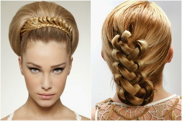 10 Braided Hairstyles For Long Hair: Wedding Hairstyles For Long Hair : Vintage Hairstyles
