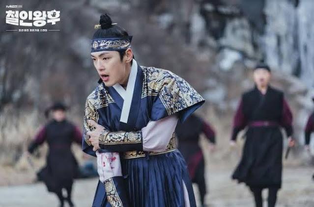 raja cheoljong terluka dikejar untuk dibunuh pasukan kerajaan