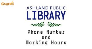 Ashland Library Hours, Ashland Public Library Hours