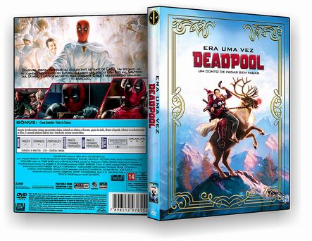 CAPA DVD – Era Uma Vez Um Deadpool – AUTORADO