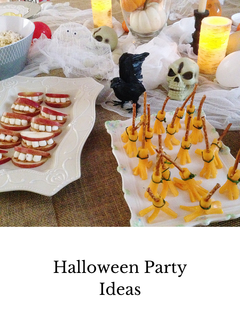 halloween party ideas for food and decor