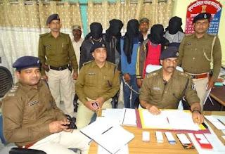 समस्तीपुर में फाइनेंस कर्मी को गोली मारकर लूटने वाला पांच अपराधियो को पुलिस ने किया गिरफ्तार।