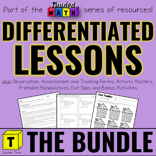 Cover of Differentiated Guided Math Lessons resource.