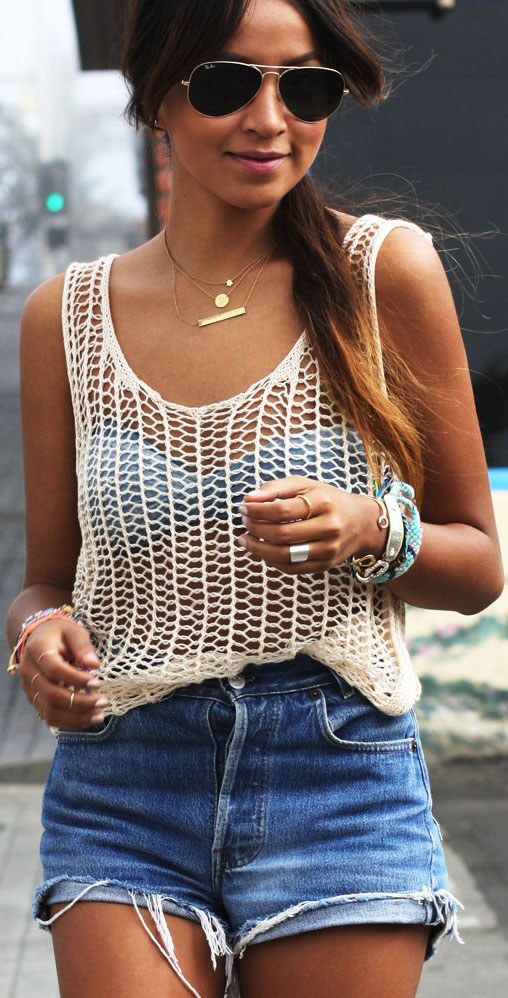 casual summer outfits ideas #summeroutfits