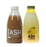 "PAKET DIET ""ASH JUICE ORIGINAL/CINAMOON+ASH LEMON"""