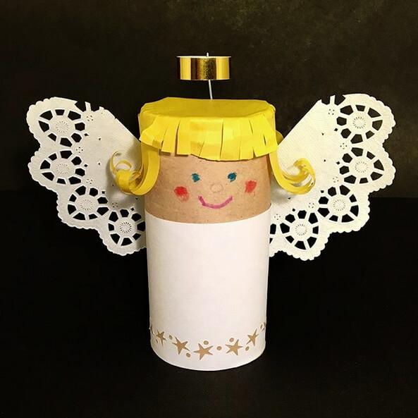 angel con tubo higienico