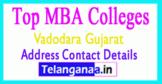 Top MBA Colleges in Vadodara Gujarat