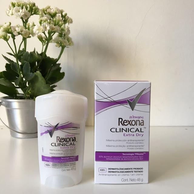 Resenha: Rexona Clinical Women Extra Dry