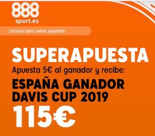 888sport superapuesta España- Ganador Davis Cup 2019