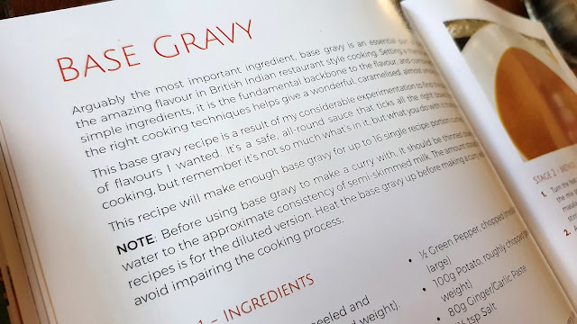 Curry Kitchen Cook Book Review Base Gravy recipe page