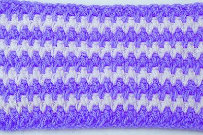 3- Crochet Imagen Puntada frijolito a crochet y ganchillo por Majovel Crochet