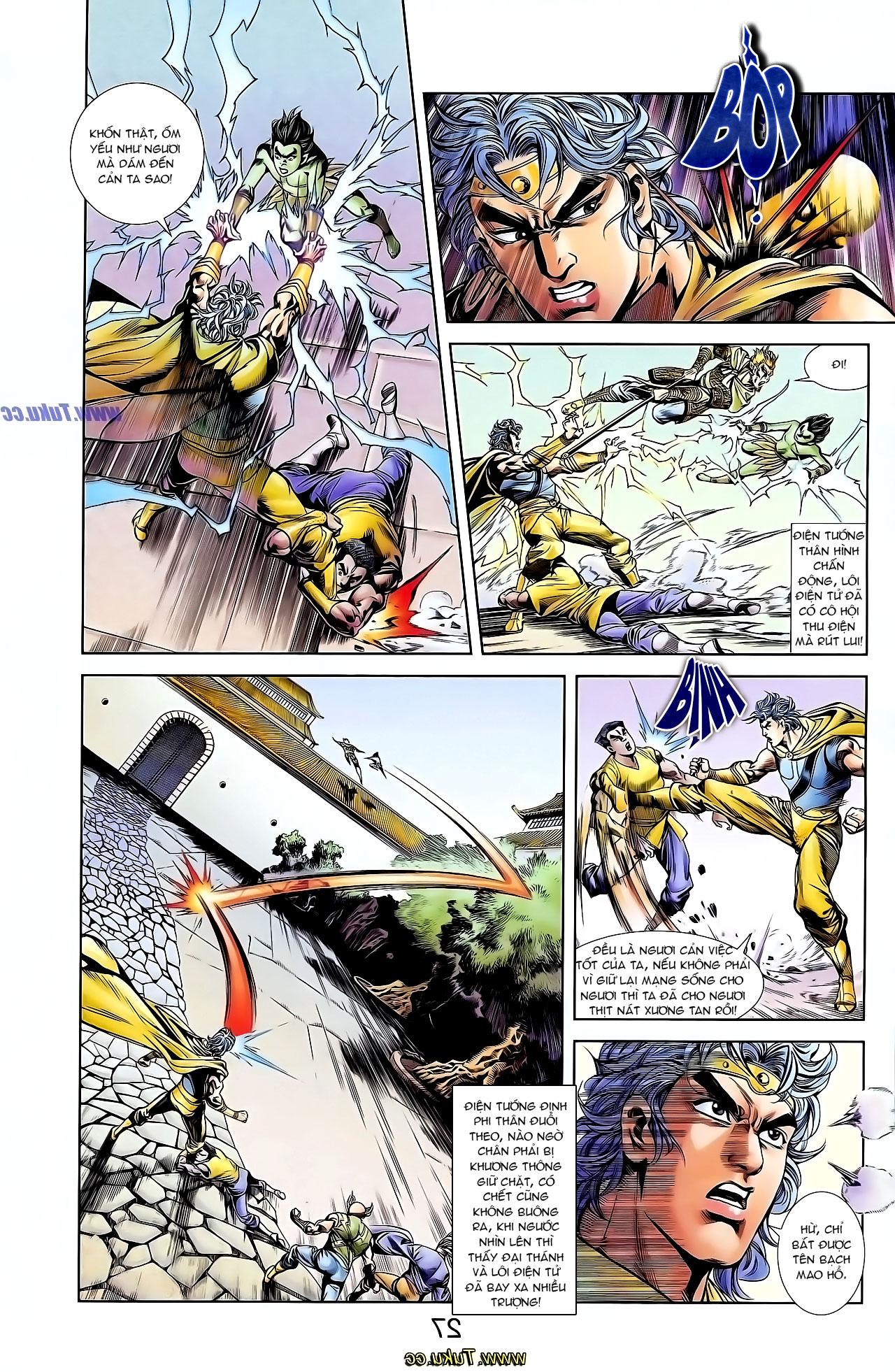 Cơ Phát Khai Chu Bản chapter 126 trang 10