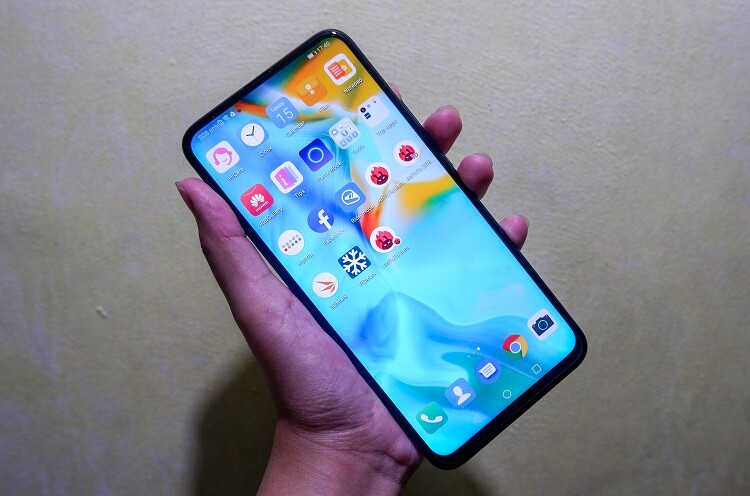 Powered by Android 9 Pie OS with EMUI 9